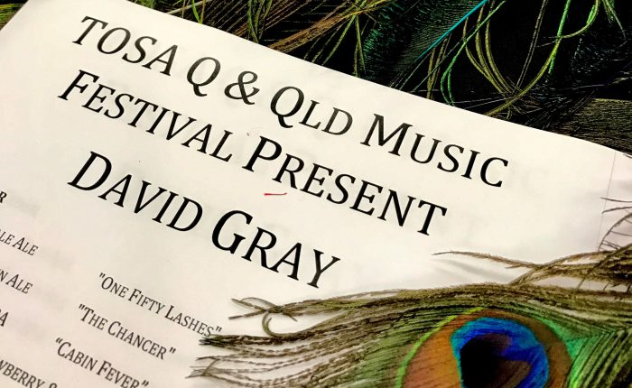 Review TOSAQ & QMF David Gray - They don't make fun like this any more.